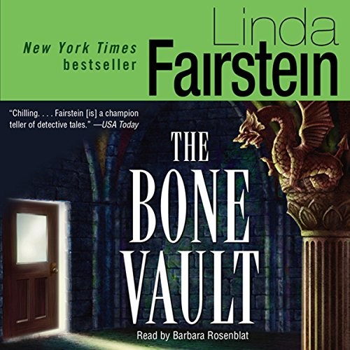 The Bone Vault audiobook cover art