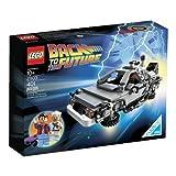 delorean time machine lego - LEGO (LEGO) Kuso DeLorean time machine 21103