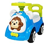 Toy House Happy Jogo's Funky Push Car, Blue