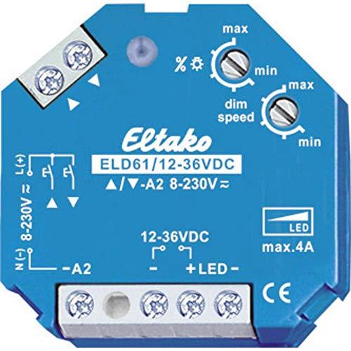 Eltako 2719520 Led-Dimmschalter 12-36 V DC, 4 A, ELD 61