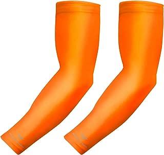 baseball arm sleeves orange