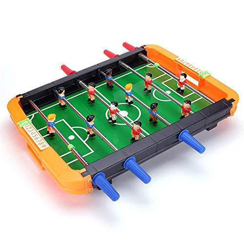 Great Price! CJVJKN Classic Adult and Children Table Football, Suitable for Indoor and Outdoor Bedro...