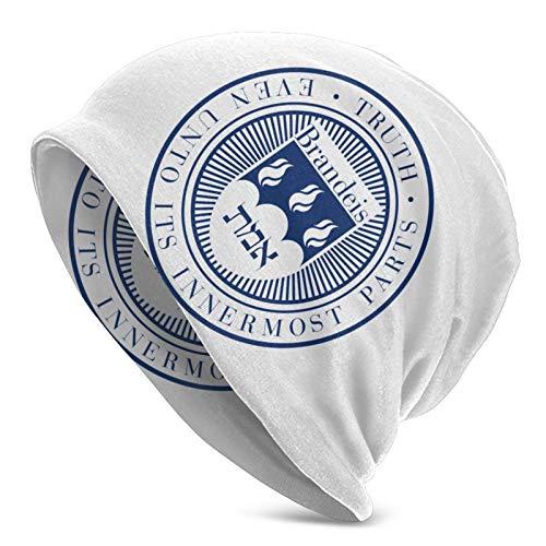 YONGJING Ner Israel Rabbinical College Logo Strickmütze für Erwachsene, Mütze Unisex-Hüte für Erwachsene, Mütze, Sturmhaube, halbe Sturmhaube Bla