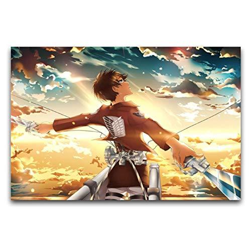 WPQL Eren Jäger Attack on Titan Japan Anime (2) 40 x 60 cm