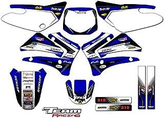 Team Racing Graphics kit compatible with Yamaha 2000-2007 TTR 125, ANALOG Complete Kit