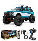 1:10 Scale Large RC Rock Crawler - 4WD Off Road RC Cars - Remote Control Car 4x4 Electric Truck -...