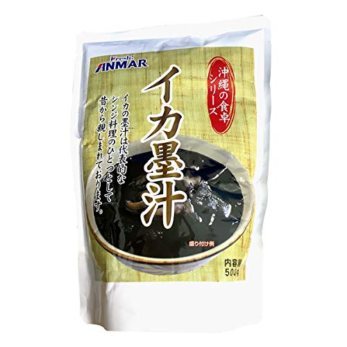イカ墨汁 (かつお風味) 500g