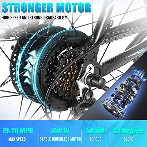 51WnsUhyDES。 SL500ANCHEER電動自転車電動マウンテンバイク