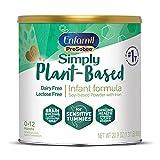 Plant based Baby Formula, 20.9 Oz Powder Can, Enfamil ProSobee for Sensitive Tummies, Soy-based,...