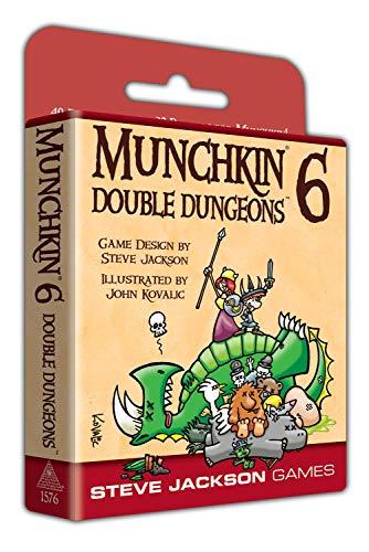 Steve Jackson Games 1576 - Munchkin 6 - Double Dungeons Expanded Edition (englische Ausgabe)