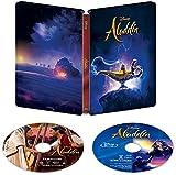 アラジン 4K UHD MovieNEX スチールブック(数量限定) [4K ULTRA HD+Blu-ray+デジタルコピー+MovieNEXワールド] image