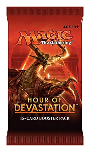 Magic The Gathering 15088-S Hour of Devastation Card Booster Pack