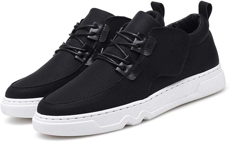 schuheDQ Lässige Herrenschuhe PU Größe 24,5 cm bis 27,0 cm Schwarz All Seasons Wear Board Schuhe Freizeit  | Qualität