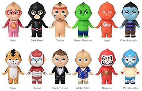 Sonny Angel Gee Sorry Japanese Style Mini Figurine Series 2 Toy Set of 12 by Sonny Angel