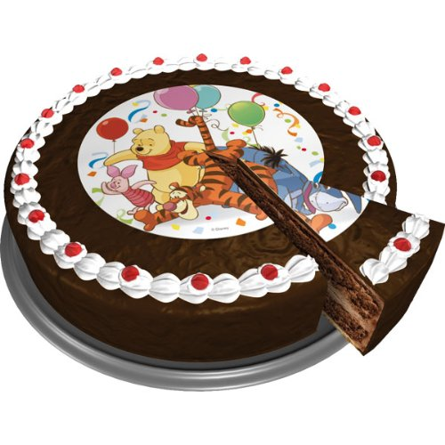 Dekoback Zucker-Tortenaufleger Winnie Pooh 1, 1er Pack (1 x 17 g)