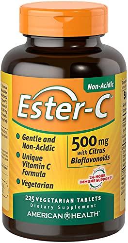 American Health, Ester-C 500 mg con bioflavonoidi di agrumi, 225 Veggie Tabs