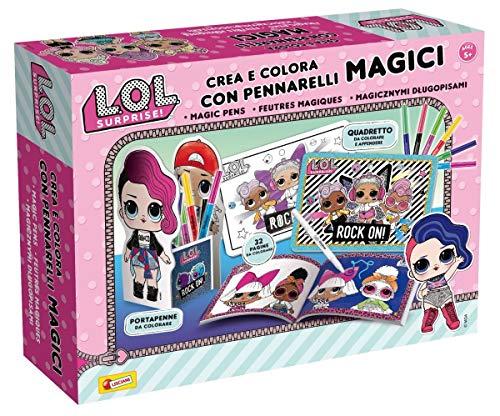 Lisciani Giochi- LOL Surprise Crea e Colora con Pennarelli Magici, Multicolore, 75089