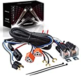 RENMAII-LIGHT 1Set 2-Headlight H4 Relay Harness, H4 Headlight Relay Harness H4 Wiring Harness H6054 7x6 6054 Headlight Relay Kit for 95-97 Tacoma 88-95 Pickup 4 Runner Fix Dual Ground Problem