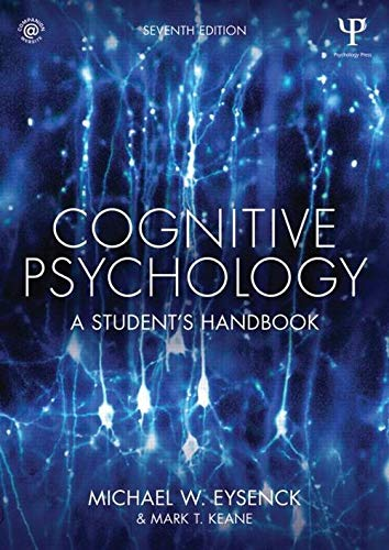 Image OfCognitive Psychology: A Student's Handbook