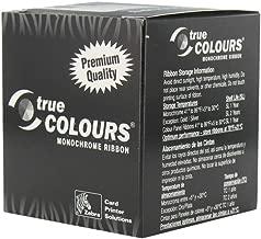 Zebra 800015-107 Silver Monochrome Ribbon for the Zebra PXXX Printers. 1,000 prints.