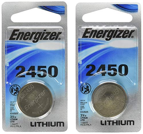 Energizer Lithium Coin Blister Pack Watch/Electronic Batteries, 1 Count (Pack of 2)