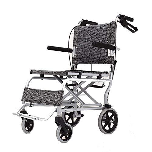 Candyana Rolstoel, ultralicht, van aluminiumlegering, voor kinderwagens en rolstoel, inklapbaar, licht