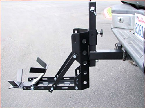 Portable Motorcycle MX Trailer Carrier Lightweight Tow Dolly Hauler Rack Hitch Heavy Duty Construction Safety Transport - House Deals