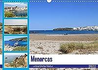 Menorcas unberuehrte Natur (Wandkalender 2022 DIN A3 quer): Entdecken Sie die schoenste Insel der Balearen! (Monatskalender, 14 Seiten )