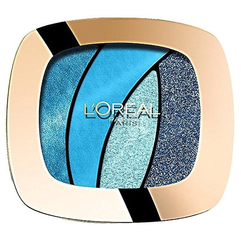 テロモナリザ十年ロレアルパリカラーリッシュクワッド、スペル15 x4 - L'Oreal Paris Color Riche Quad, Turquose Spell S15 (Pack of 4) [並行輸入品]
