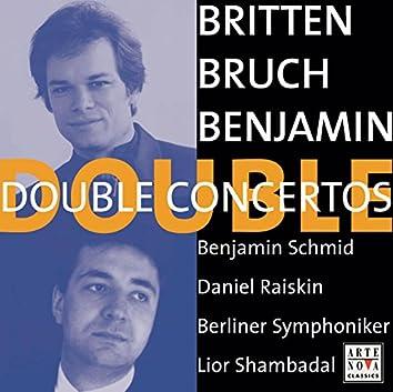Benjamin/Britten/Bruch: Double Concertos