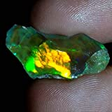 08.75Cts 100% A+ Natural Ethiopian Welo Opal Rough Stone, Raw Crystal, October Birthstone, Jewelry Making Gemstone, Ultra Fire Striking Opal, Opal Rock, Handpicked Stone, Size-09X23X08MM