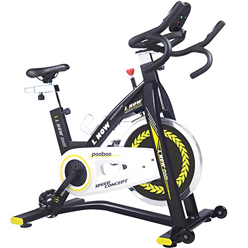 pooboo Indoor Cycling Bike Trainer, Professional Exercise...