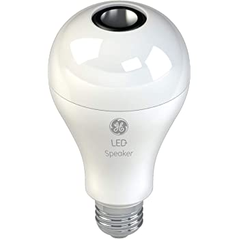GE LED+ General Purpose LED Light Bulb Replacement with Bluetooth Speaker - A21 in Soft White, 1CT
