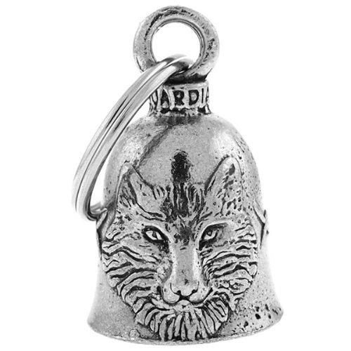 Guardian Bell - Campanilla con amuleto de lobo de la buena suerte para moto