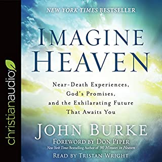 Imagine Heaven audiobook cover art