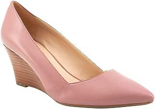 Franco Sarto Women's Frankie Pump, Rosy Mauve Leather, 11 M