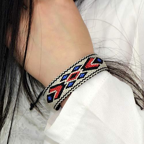 LANSS Bijzondere Touw Armbanden Originele Handgemaakte Sieraden Gevlochten Armband Geometrische Figuren