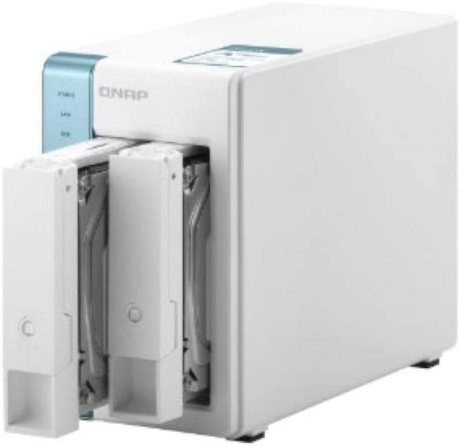 QNAP TS-231K 2 Bay Home NAS with Two 1GbE Ports