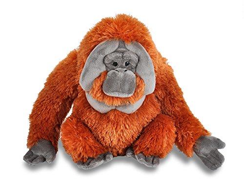 Wild Republic 12250 Plüsch Orangutan, Cuddlekins Kuscheltier, Plüschtier, 30 cm