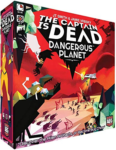 Alderac Entertainment Group AEG7039 The Captain is Dead: Dangerous Planet, Mixed Colours (Toy)