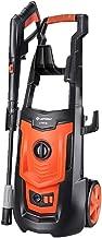 SunHai Electric Car Washing Machine High Pressure Car Washing Machine Household 220V 50Hz 1800W Car Wash Pump Portable Water Gun (Orange) (Color : #1)