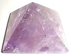 AA Plus Shop Amethyst Purple Pyramid Shaped Crystal Stone