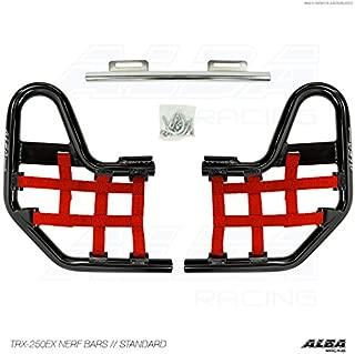 TRX 250EX, TRX250EX SPORTRAX (2001-2008) Standard Nerf Bars Compatible with Honda Black Bars w/Red Net