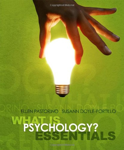 What is Psychology? Essentials (Available Titles Aplia)