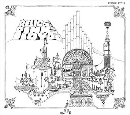 "PINK FLOYD / RELICS / A BIZARRE COLLECTION OF ANTIQUES & CURIOS / Bildhülle / emidisc / # 1 C 048-50 740 / Deutsche Pressung / 12"" Vinyl Langspiel Schallplatte /"