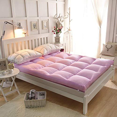 YLCJ matrashoes om te slapen, puur matras, Schottische tattamik, dubbel kussen om te slapen, draagbaar, 90 x 200 cm