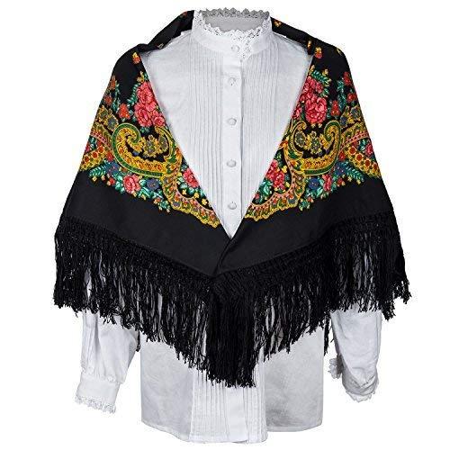 Pañuelo regional - mantón regional - pañuelo tradicional