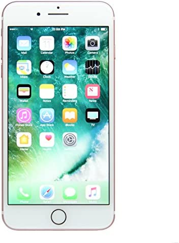 Apple iPhone 7 Plus, US Version, 128GB, Rose Gold – Unlocked (Renewed)