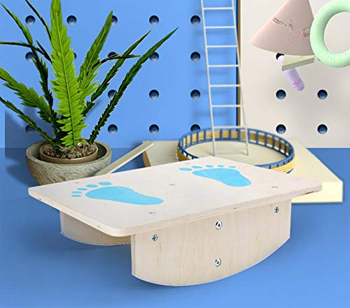 Buy JDD Children's Balance Board Sensory Training Equipment Seesaw Toy Concentration Training Balanc...