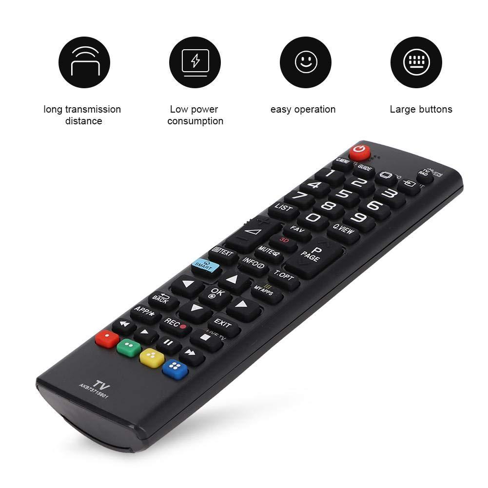 Ideal Control Remoto para LG TV,Mando a Distancia para LG AKB73975709 AKB73975757 AKB73975728 con Función de Aprendizaje: Amazon.es: Electrónica